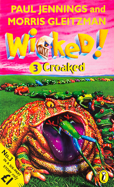 Wicked! Book 3 UK 1998 cover